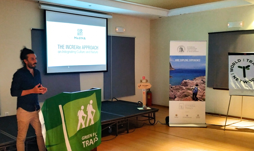 MedINA's INCREAte approach at the 1st 'Green Flag Trails' auditor training in Europe