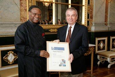 WWF International Award on 27 May 2008