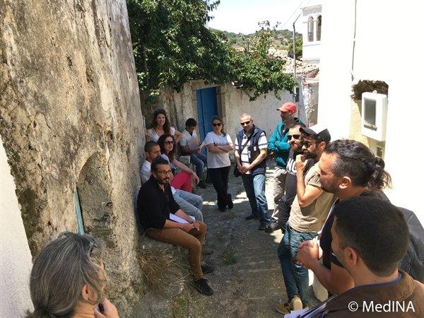 MedINA organises the second phase of the training workshop on heritage interpretation in Kythera island