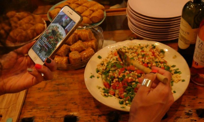 Share A Dish night in Lemnos from Rooted Everyday
