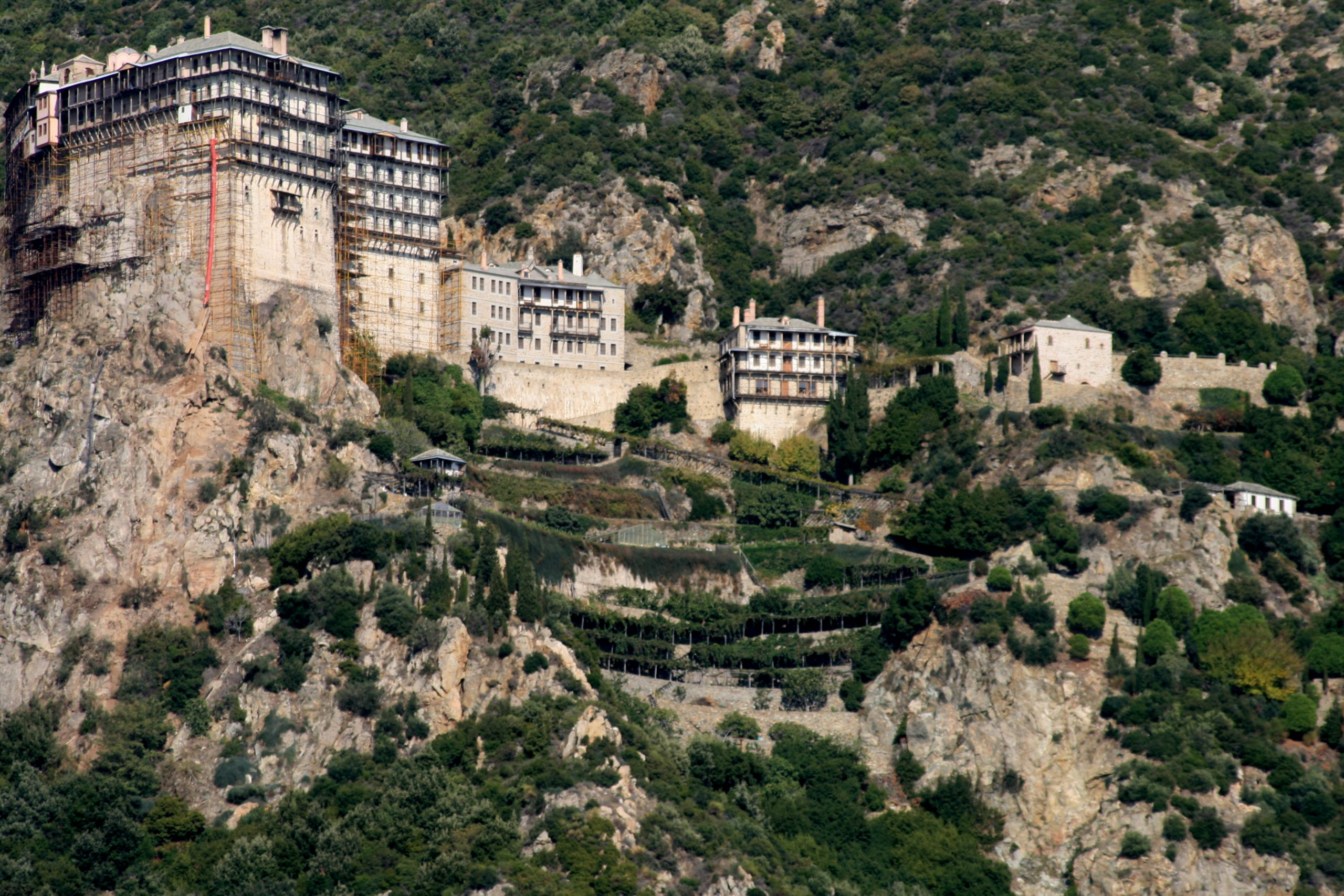 Integrated management of Mount Athos