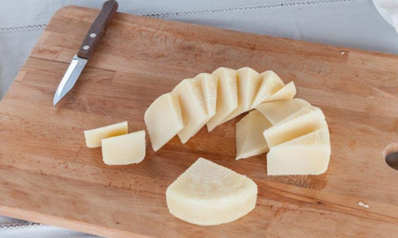 The tasting rounds of melipasto cheese have started